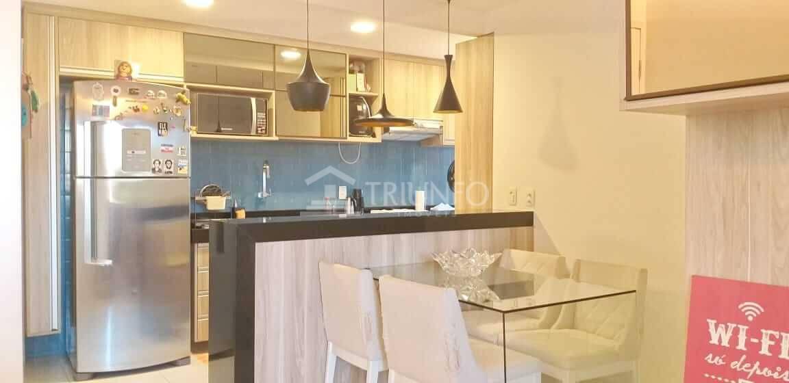 Apartamento no Vicente Pinzon com 02 Quartos