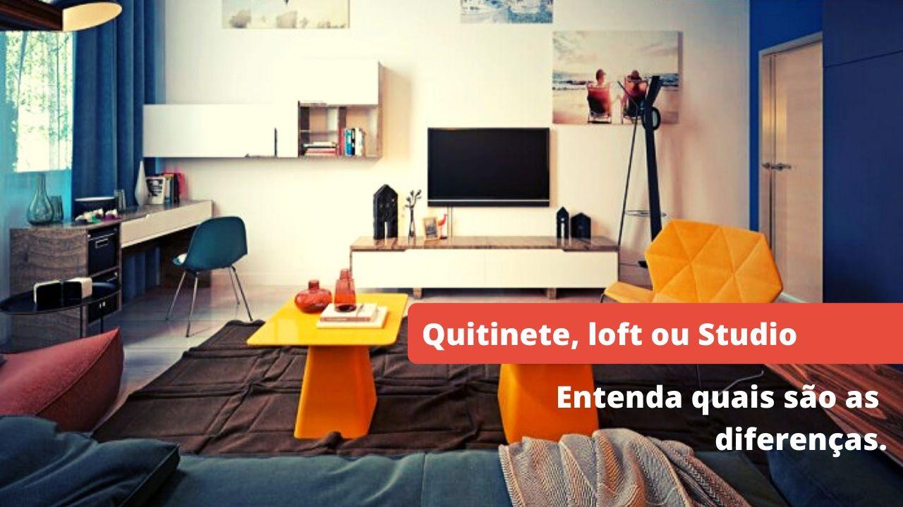 Quitinete, studio ou loft. Quais são as diferenças?