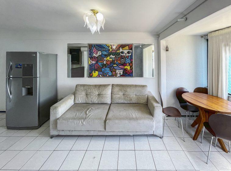 Apartamento no Mucuripe com 02 Quartos